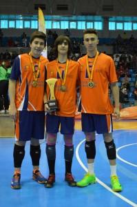 SSAA-campeones-España-voleibol-3-deportistas-xativa