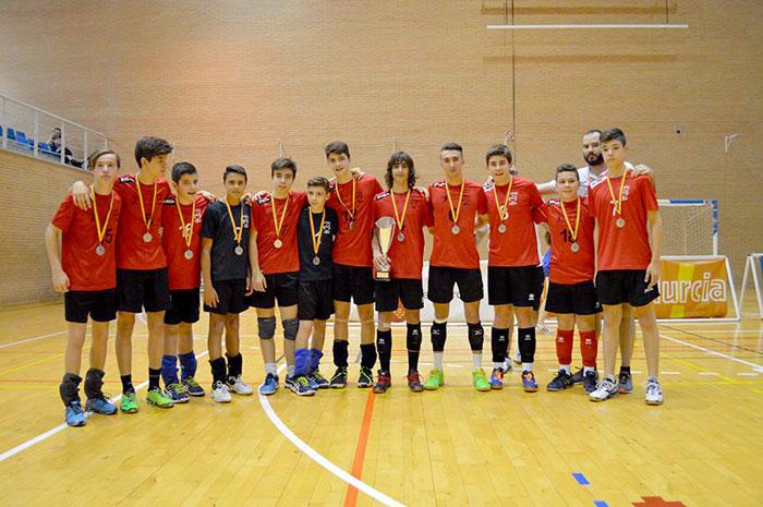 equipo-voleibol-subcampeón
