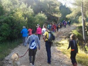 Ruta senderista Manco Genoves