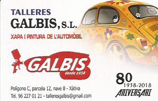 Galbis-tarjeta